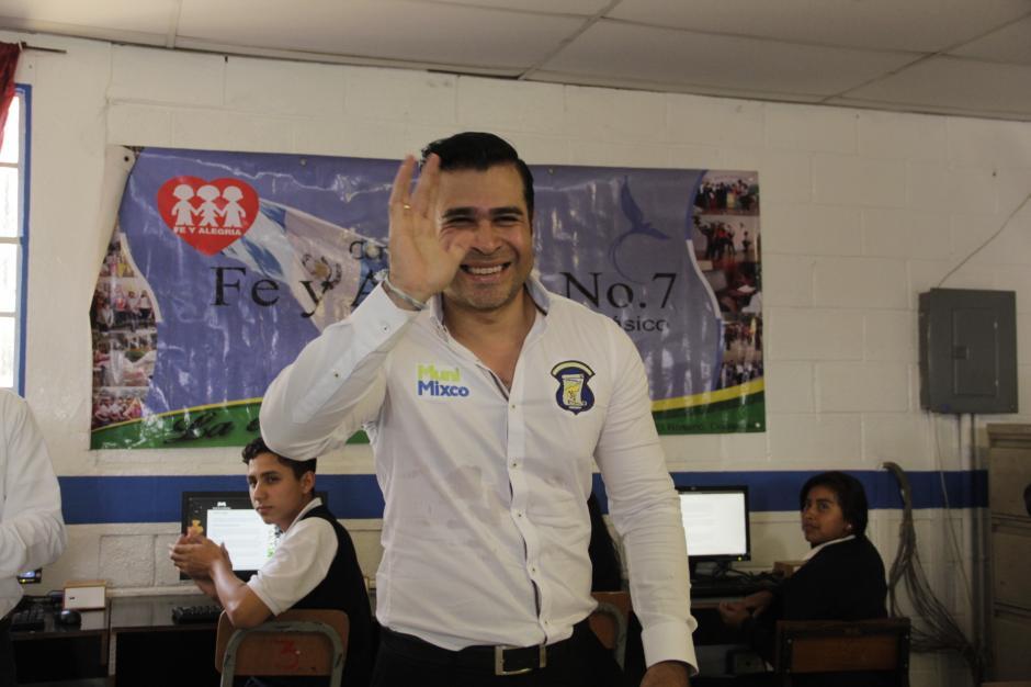 El alcalde de Mixco dijo que era malo para los deportes y poco atractivo para las mujeres. (Foto: Fredy Hernández/Soy502)