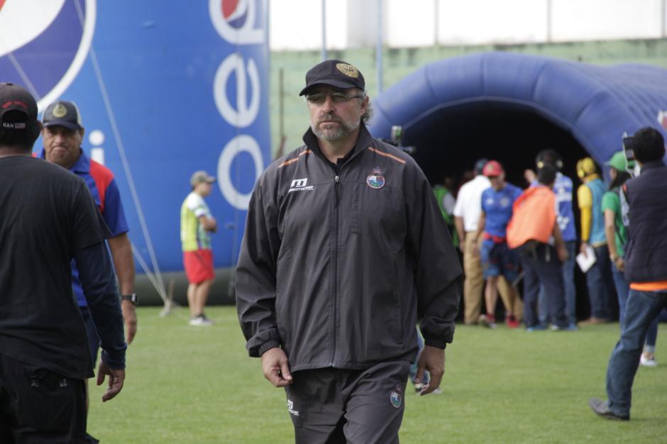 Los ascendidos tuvieron el aval del técnico Gustavo Machaín. (Foto: Fredy Hernández/Soy502)
