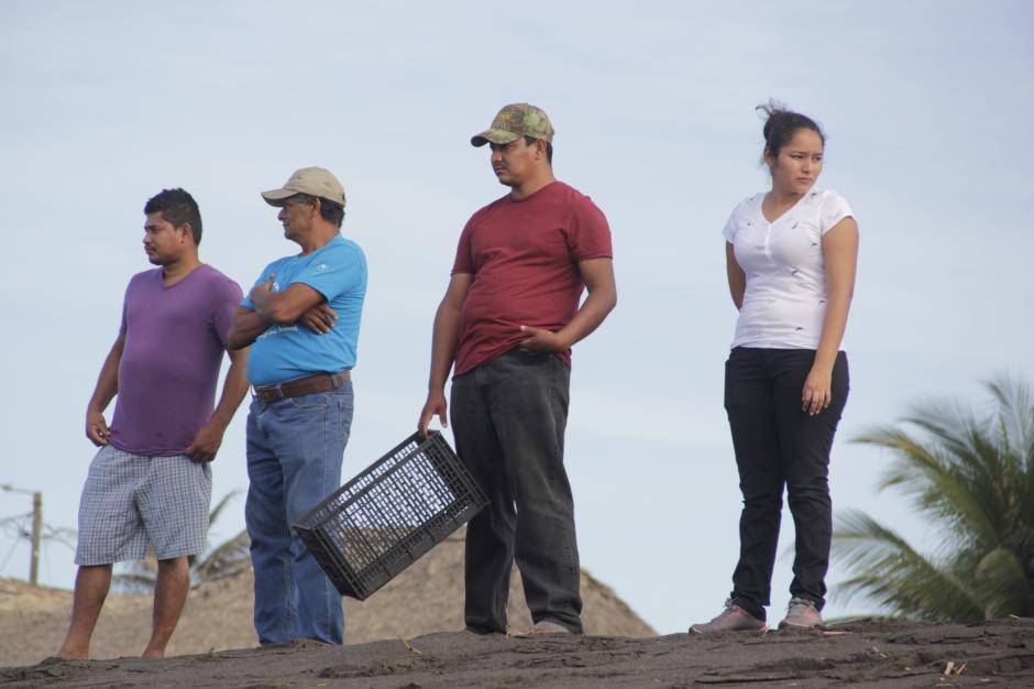 Algunos parlameros participan de la actividad. Ellos entregan un 20% de los huevos que salen a colectar por las noches. (Foto: Fredy Hernández/Soy502)