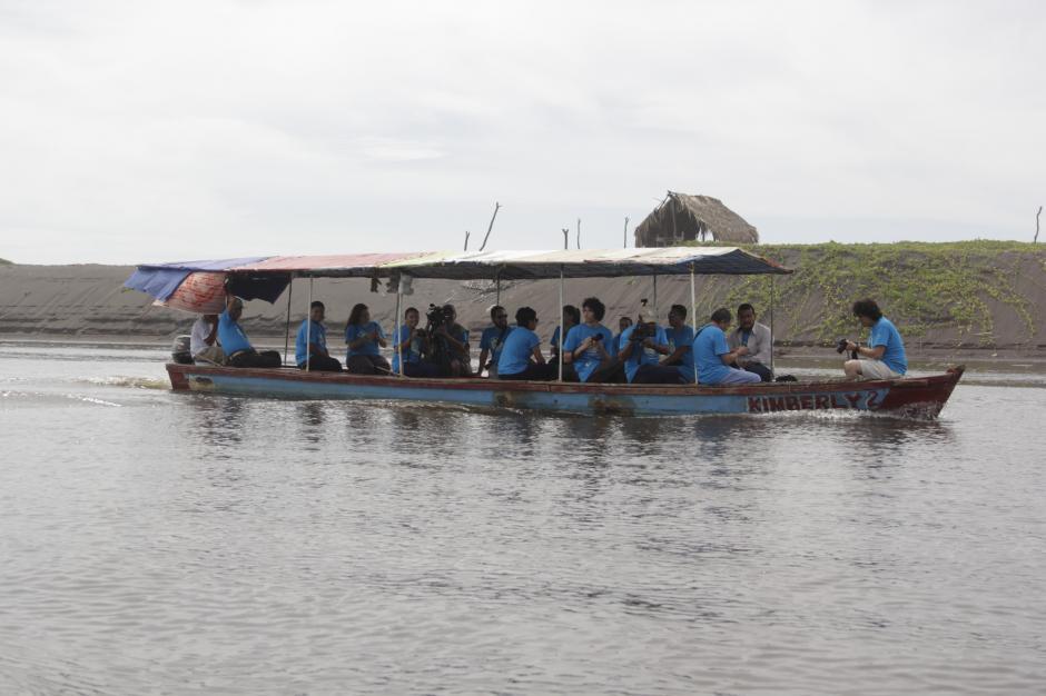 El Canal de Chiquimulilla es la ruta que se utiliza para llegar al Parque Nacional Sipacate-Naranjo. (Foto: Fredy Hernández/Soy502)