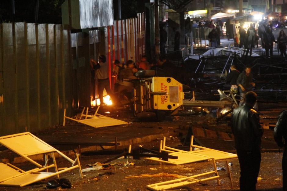 La situación puso en alerta máxima a las autoridades. (Foto: Carlos Duarte/Nuestro Diario)