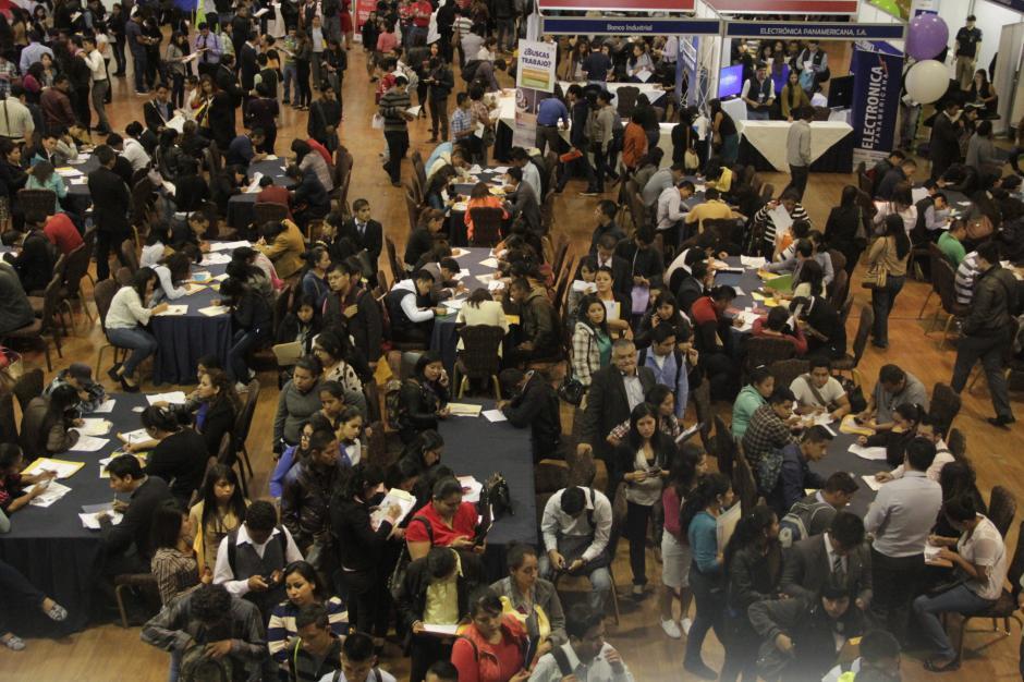 Guatemala debe generar cerca de 220 mil empleos para evitar la migración hacia otros países. (Foto: Fredy Hernández/Soy502)