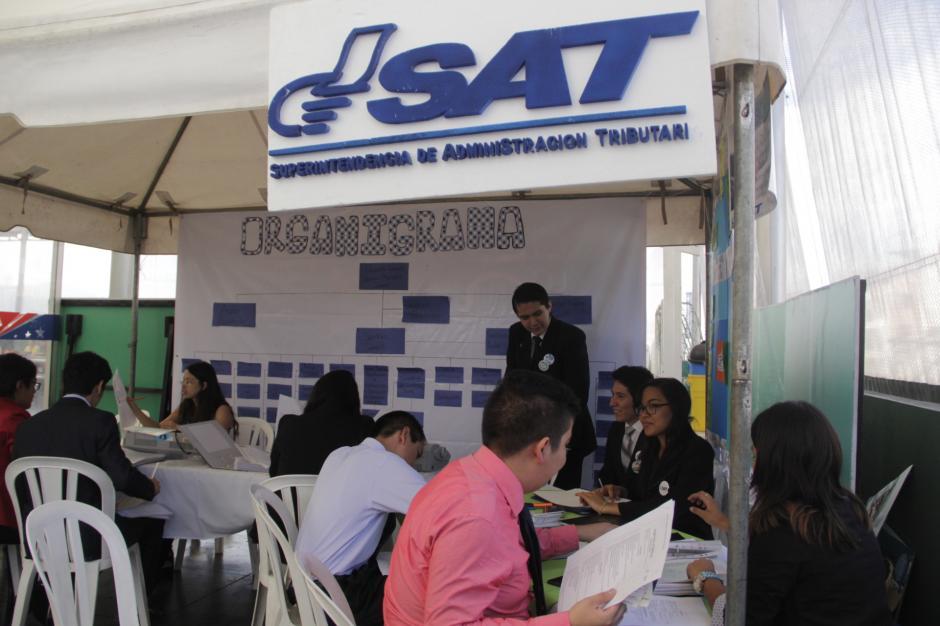 Cada empresa participante se inscribió ante la SAT para el buen manejo de sus finanzas. (Foto: Fredy Hernández/Soy502)