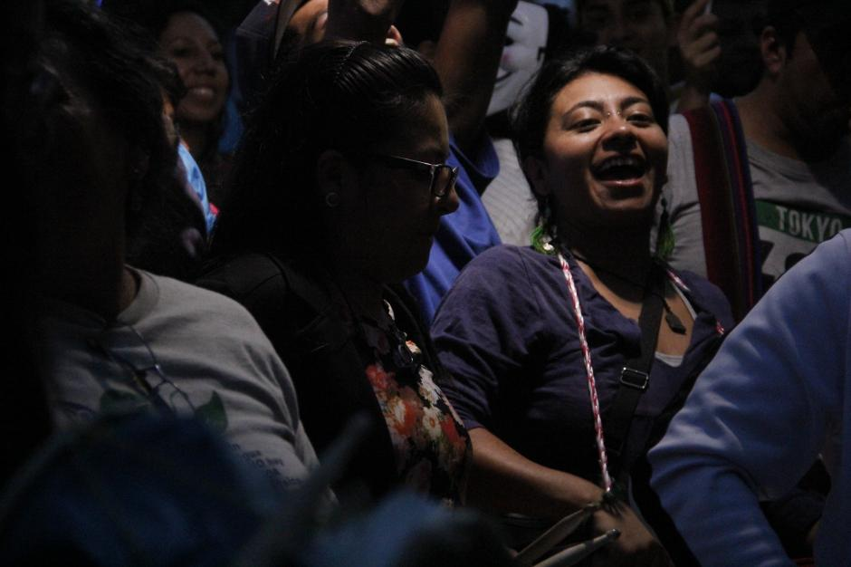 Algunas personas llevaron instrumentos musicales para amanizar la fiesta ciudadana.(Foto: Fredy Hernández/Soy502)