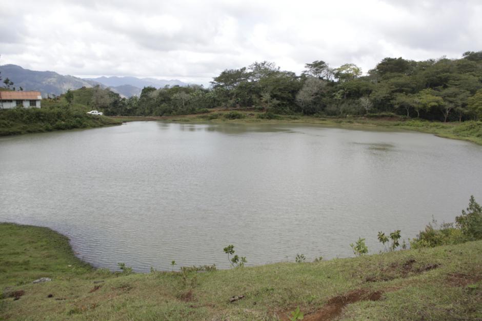 La laguna de Tuticopote se encuentra a tres kilómetros del centro de Olopa. (Foto: Fredy Hernández/Soy502)
