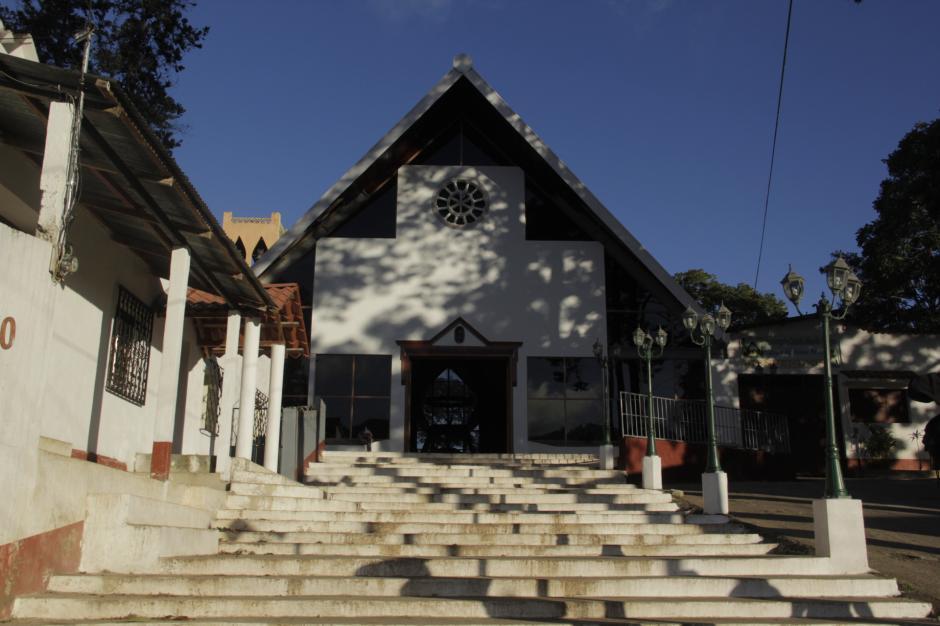 La iglesia católica de Olopa es única en su estilo. (Foto: Fredy Hernández/Soy502)