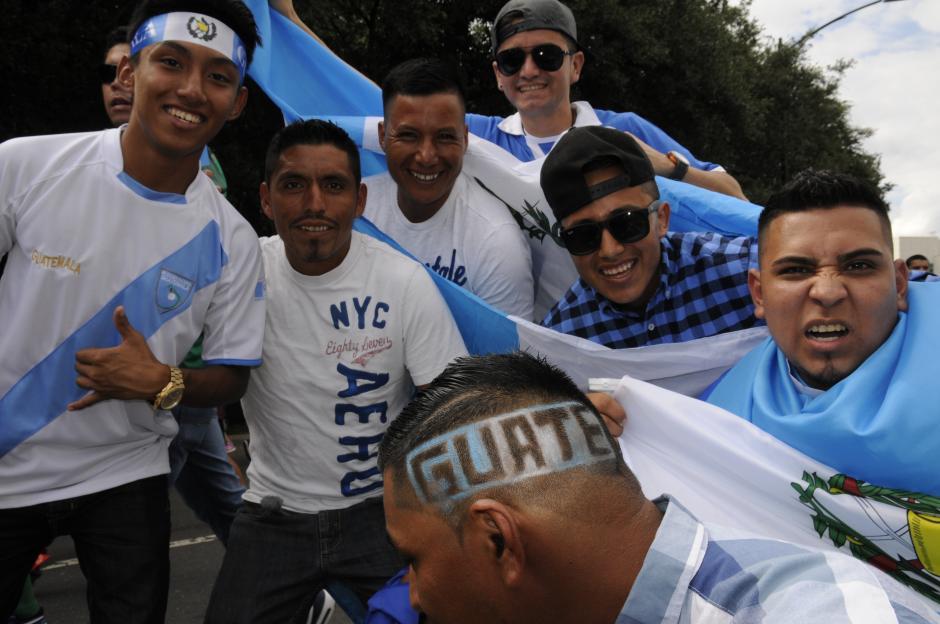 Los guatemaltecos en Estados Unidos siempre apoyan a la selección nacional. (Foto: Aldo Martínez/Nuestro Diario)