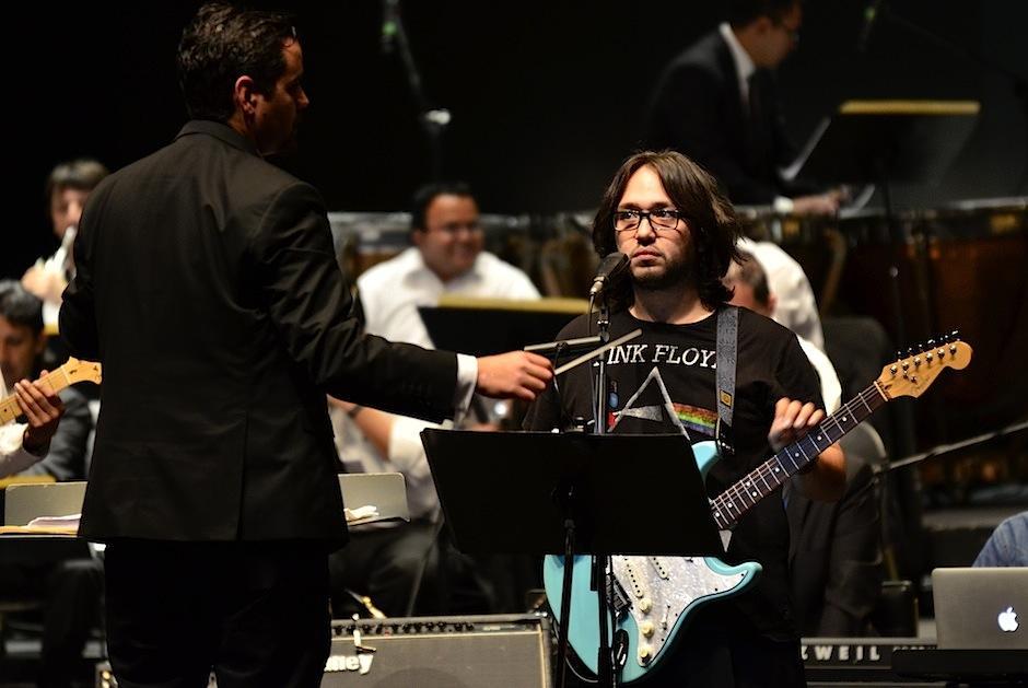 Gabriel Lepe fue la voz principal de el evento. (Foto: Selene Mejía/Soy502)