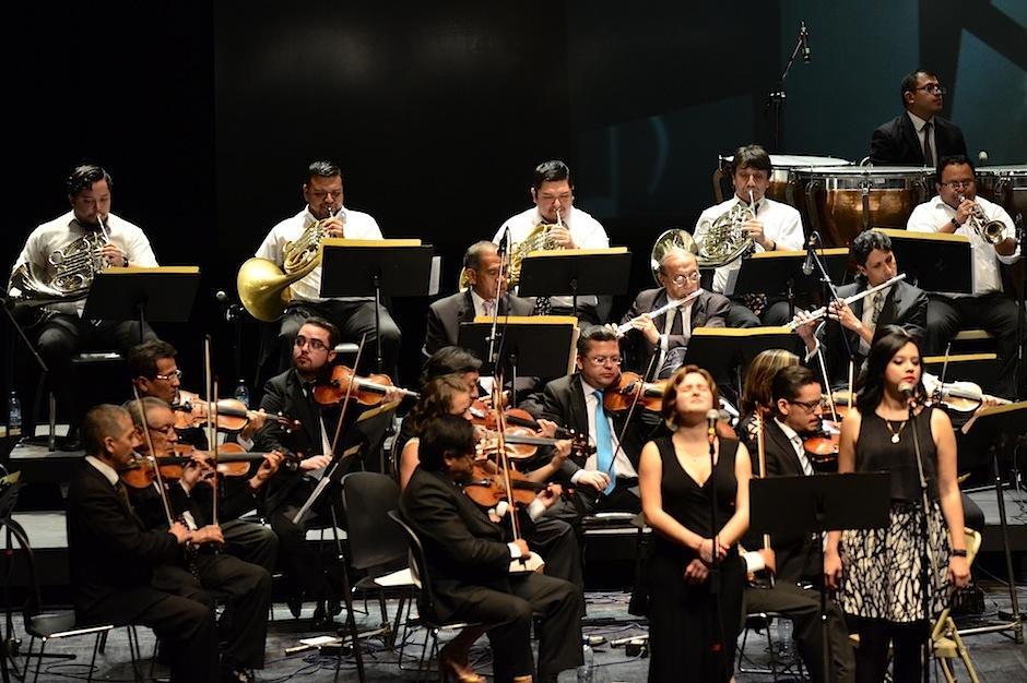"""El concierto se llevó a cabo en la Gran Sala """"Efraín Recinos"""" del Centro Cultural Miguel Ángel Asturias. (Foto: Selene Mejía/Soy502)"""