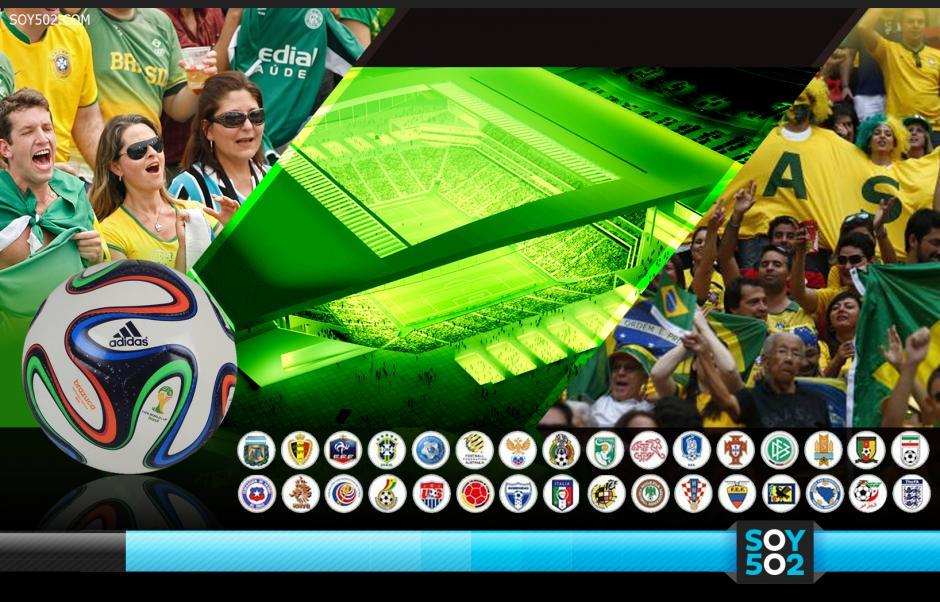 Faltan 100 días para que inicie la Copa del Mundo con el juego inaugural entre Brasil y Croacia