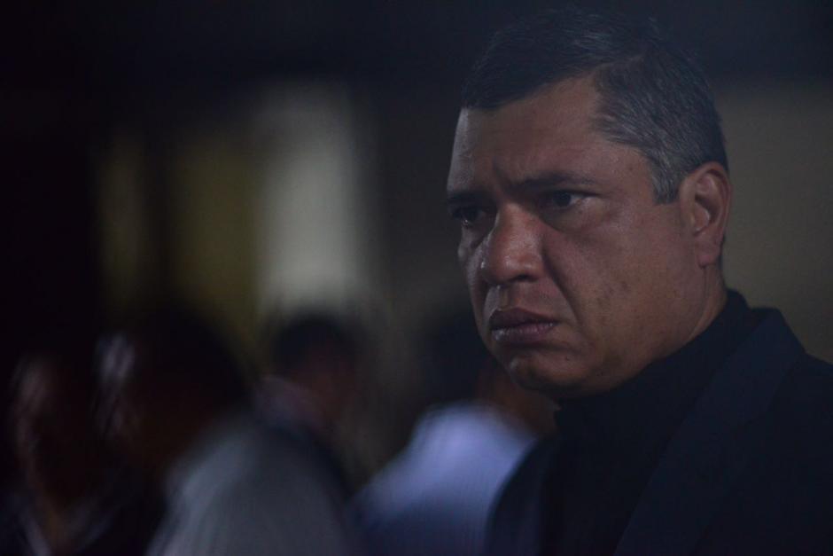 El exsecretario privado y yerno de Otto Pérez Molina es sindicado en el caso Cooptación del Estado. (Foto: Jesús Alfonso/Soy502)