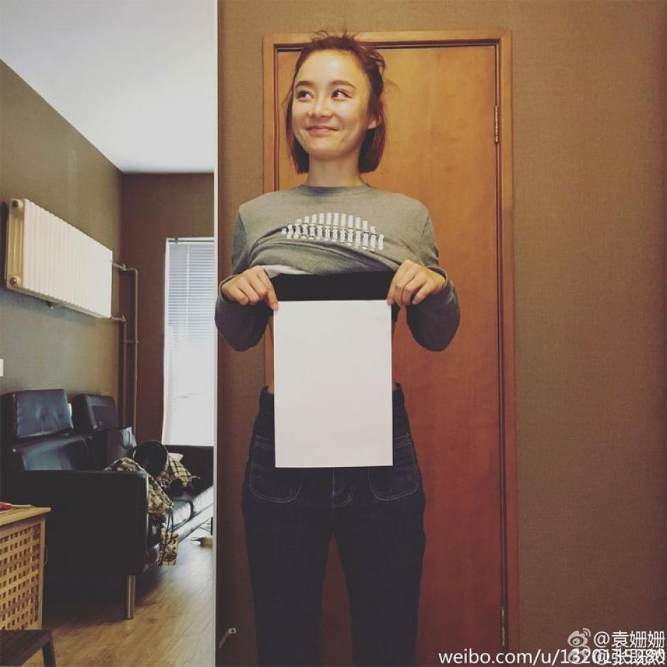 El reto de la hoja A4 tuvo su origen en China. (Foto: telemundo.com)