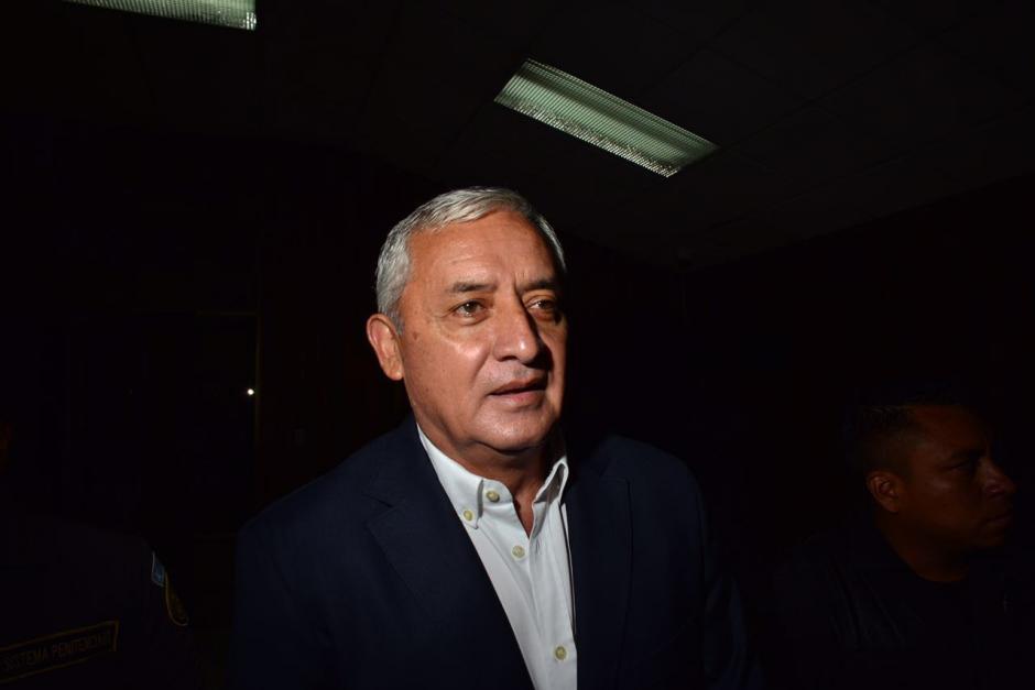 Este viernes podría declarar el expresidente Otto Pérez Molina por el caso Cooptación del Estado.  (Foto: Jesús Alfonso/Soy502)