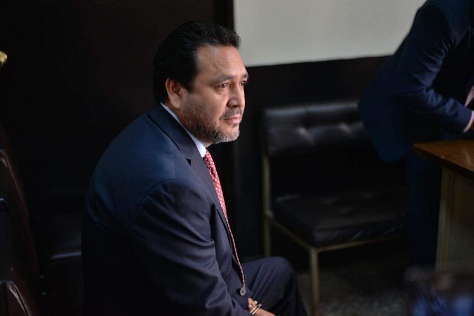 A Rivera se le acusa de haber presionado a la magistrada de apelaciones, Claudia Escobar.  (Foto: Wilder López/Soy502)