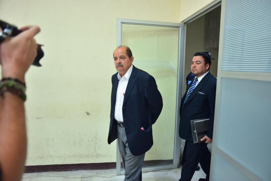 El exdiputado Alfredo Rabbé es hermano del aún legislador Luis Rabbé. (Foto: Jesús Alfonso /Soy502)