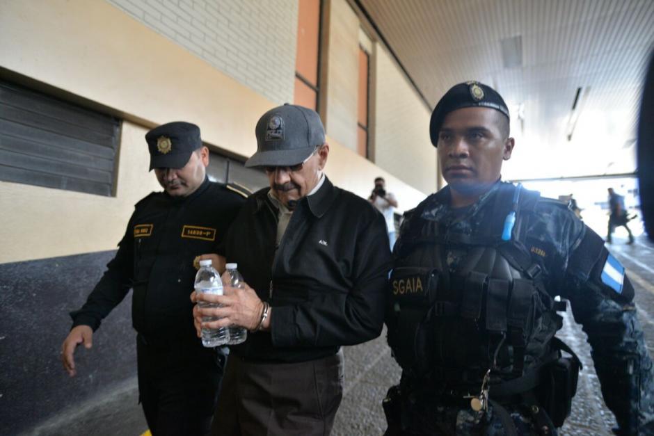 Julio René Barrios Ortega  fue detenido por el delito de cohecho activo. Foto: Wilder López/Soy502)