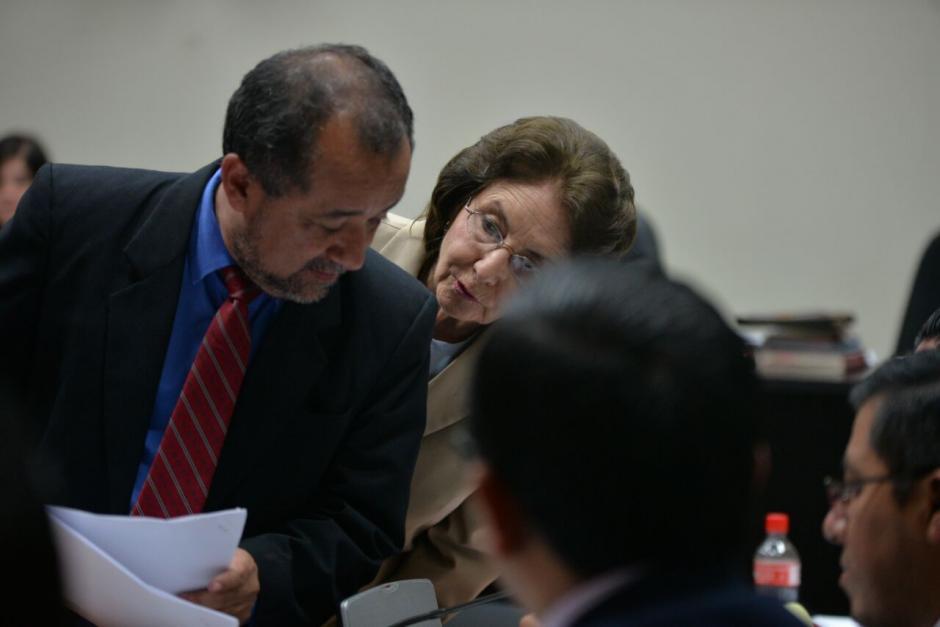 Beatriz Ofelia de León, expresidenta de la CSJ, debe enfrentar juicio por el delito de amenazas en contra de la empleada doméstica Petrona Say. (Foto: Wilder López/Soy502)