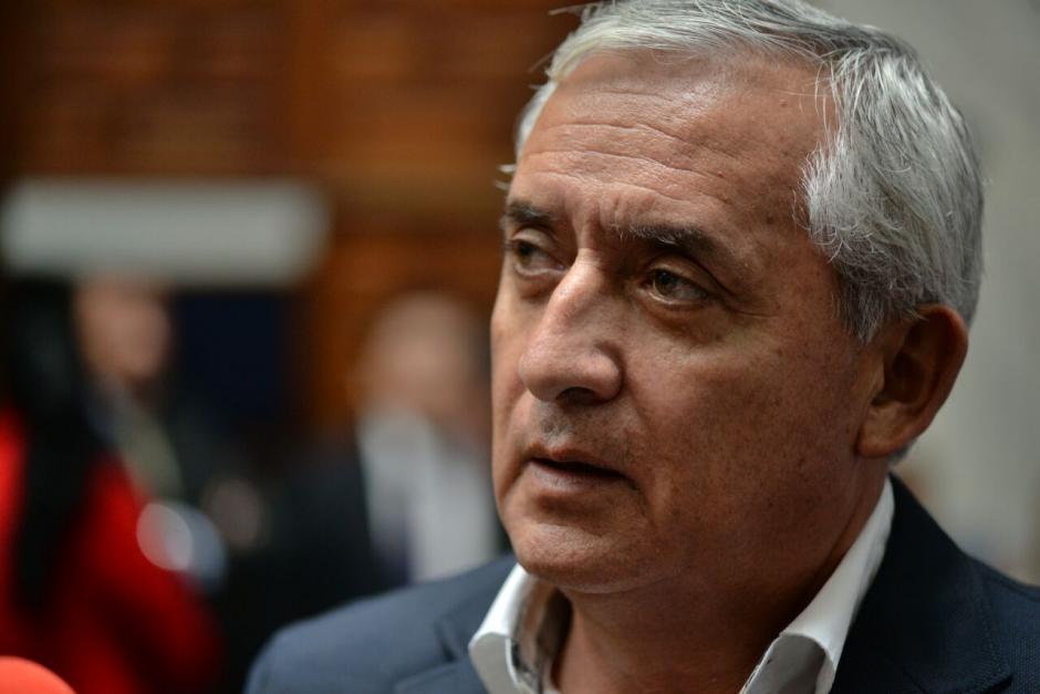 Otto Pérez Molina habló sobre la muerte de Byron Lima. (Foto: Wilder López/Soy502)