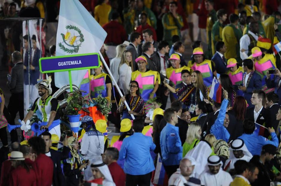 Guatemala desfiló en Río 2016. (Foto: Aldo Martínez/Nuestro Diario)