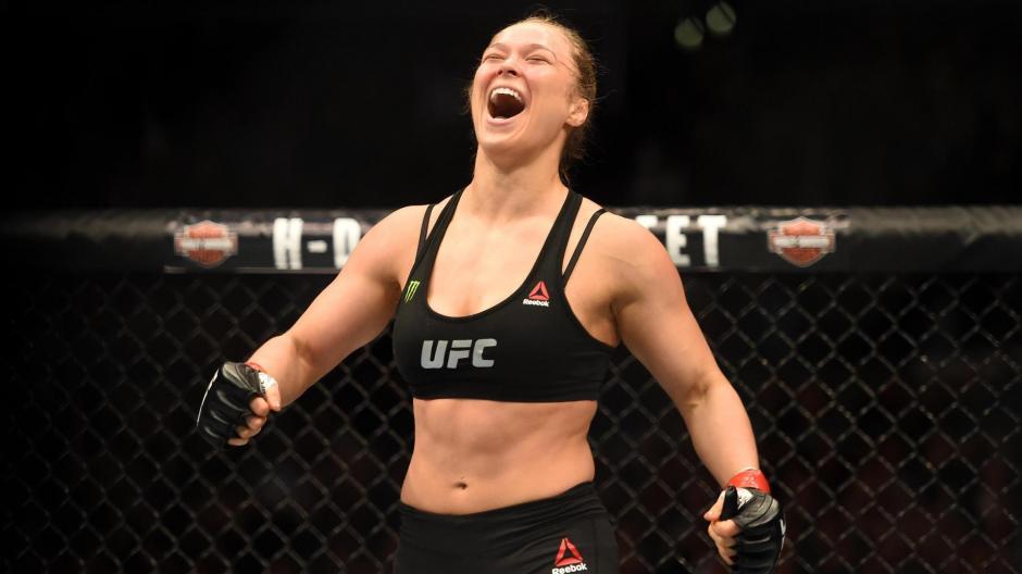 Rousey consiguió su victoria número 12 como luchadora de la MMA