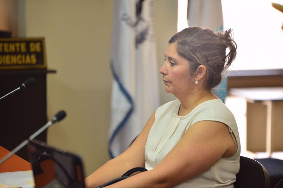 Abdy Estrada, exsuegra del hijo de Jimmy, se sinceró durante su declaración. (Foto: Jesús Alfonso/Soy502)