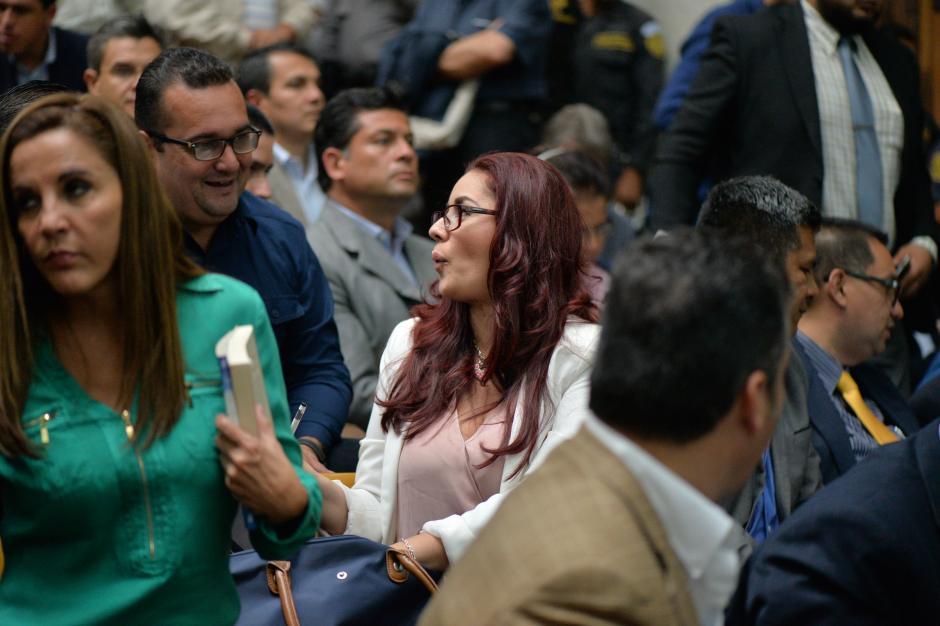 Dell'Acqua es abogada defensora, junto a su esposo Saúl Zenteno, del sindicado Julio Aldana. (Foto: Wilder López/Soy502)