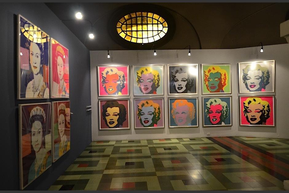 Andy Warhol toma el cine y la publicidad para reinterpretarla. (Foto: Selene Mejía/Soy502)