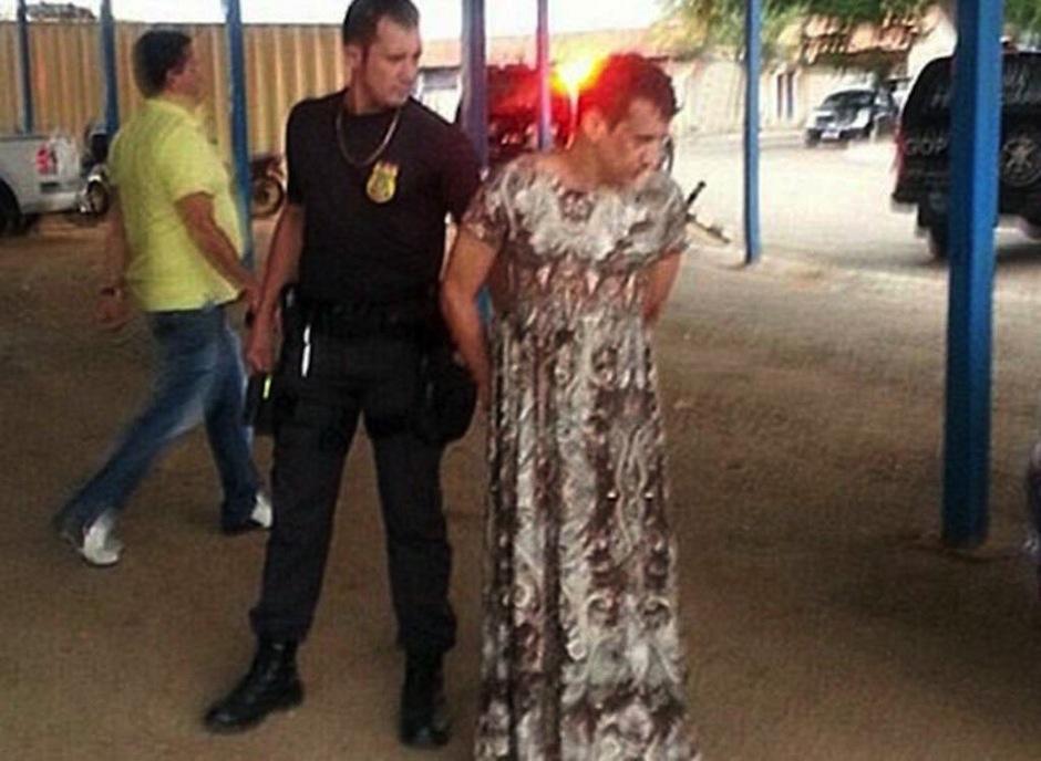 El narcotraficante Clodonado Antonio Felipe de 44 años de edad, quien utilizó este gracioso método para escapar está condenado an 36 años de prisión. (Foto: El Heraldo)