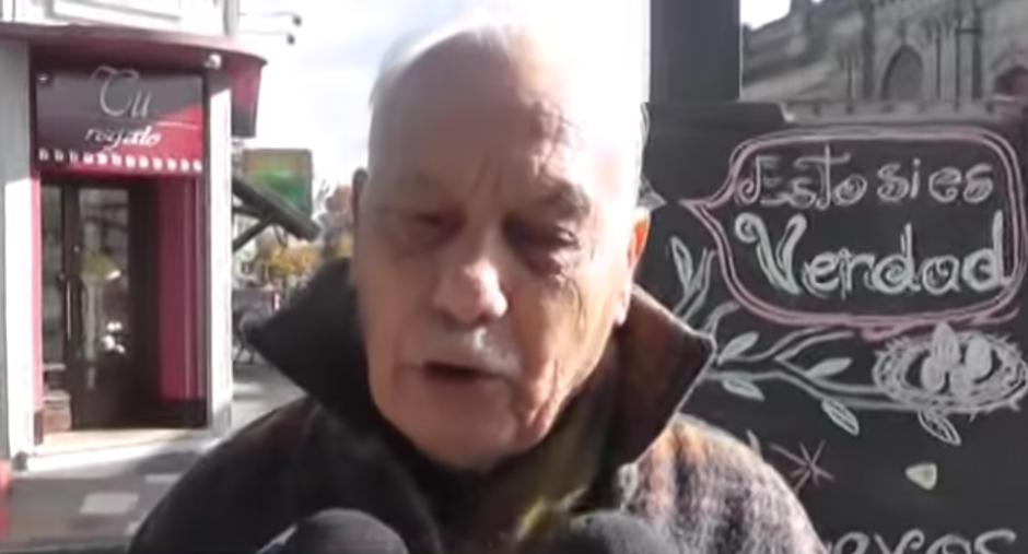 El hombre tomó con humor la confusión. (Captura de pantalla: YouTube/TVFlorida4)