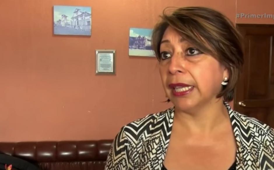 La representante de la PGN en San Marcos, Daysi Orozco, presentará una denuncia en el MP.  (Foto: Captura de YouTube)