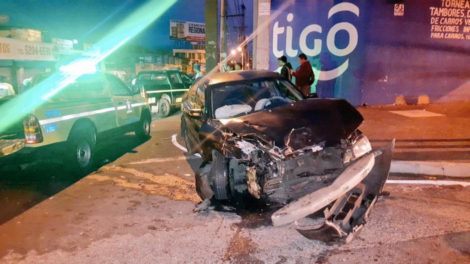 Aparentemente uno de los conductores viajaba en estado de ebriedad. (Foto: @jvelasquez340)