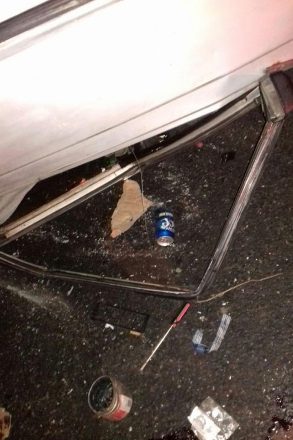 El conductor del automóvil se encontraba bajo los efectos del licor, por lo que fue consignado por las autoridades. (Foto: Dalia Santos/PNC)