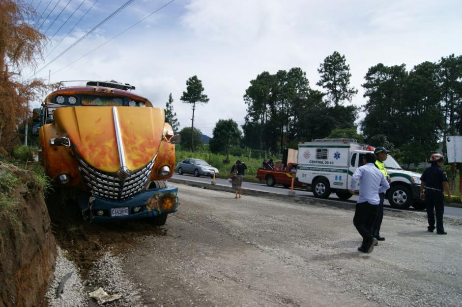 En el percance vial dos personas resultaron heridas. (Foto: Bomberos Municipales Departamentales)
