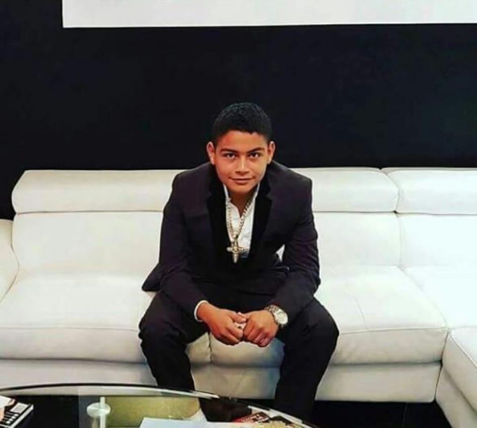 Juan Diego Lorenzana era hijo de Elio Lorenzana Cordón. (Foto: @EmisorasUnidas)