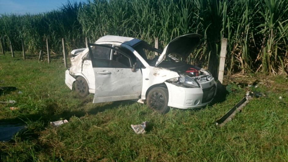 Al menos 10 personas resultaron heridas en un accidente de tránsito en la autopista Palín, Escuintla. (Foto: @Provial)