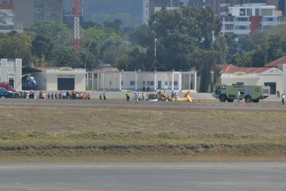 Las cuatro víctimas mortales del accidente fueron identificadas. (Foto: Wilder López/Soy502)