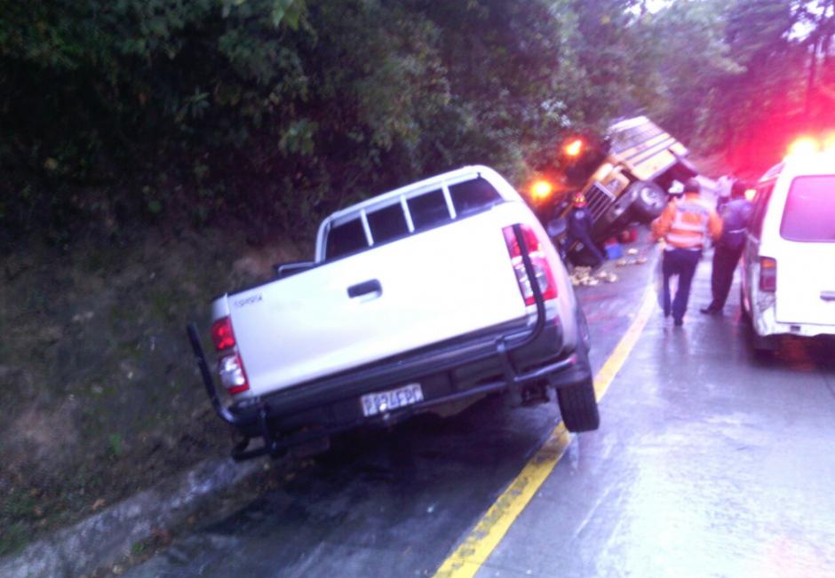 La colisión tuvo lugar en la cuesta Las Cañas. (Foto: Twitter@Provial)