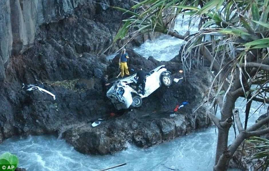 El accidente se registró en junio en Hawai. (Foto: Daily Mail)
