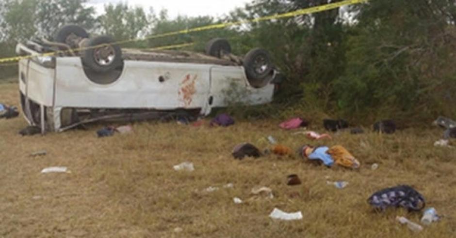 Las víctimas mortales eran originarios de El Salvador y Guatemala. (Foto: www.aztecanoticias.com.mx)