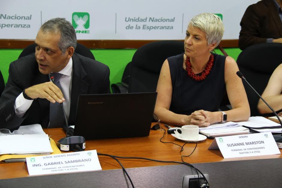 Susanne Martson, vicepresidenta de APM Terminals anunció que aceptan la propuesta para empezar a funcionar.  (Foto: Archivo/Soy502)