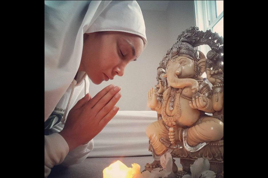 Madre Gaia Sofia es el nombre que ha adoptado como monja de su propia orden. (Foto: Instagram)