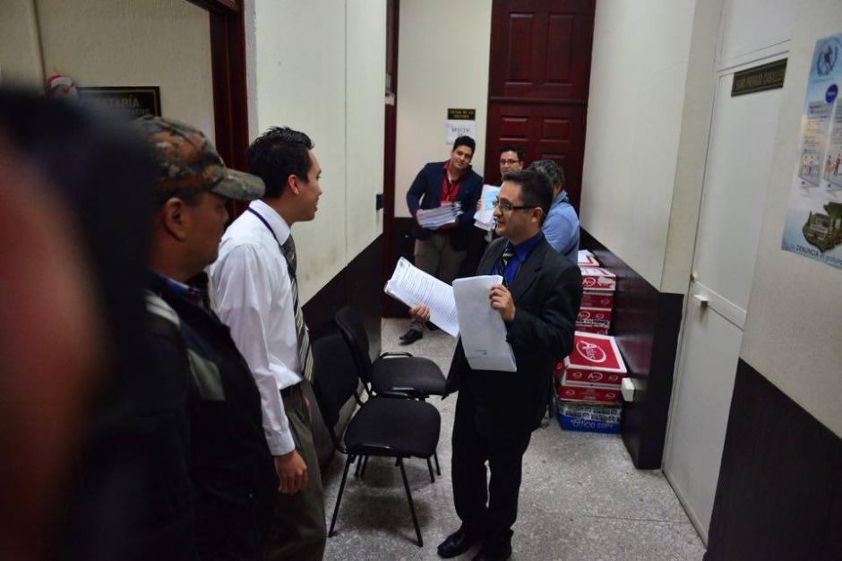 El jede de la Fiscalía Especial Contra la Impunidad (FECI) del MP, Juan Sandoval presentó la acusación formal contra Baldetti. (Foto: Jesús Alfonso/Soy502)