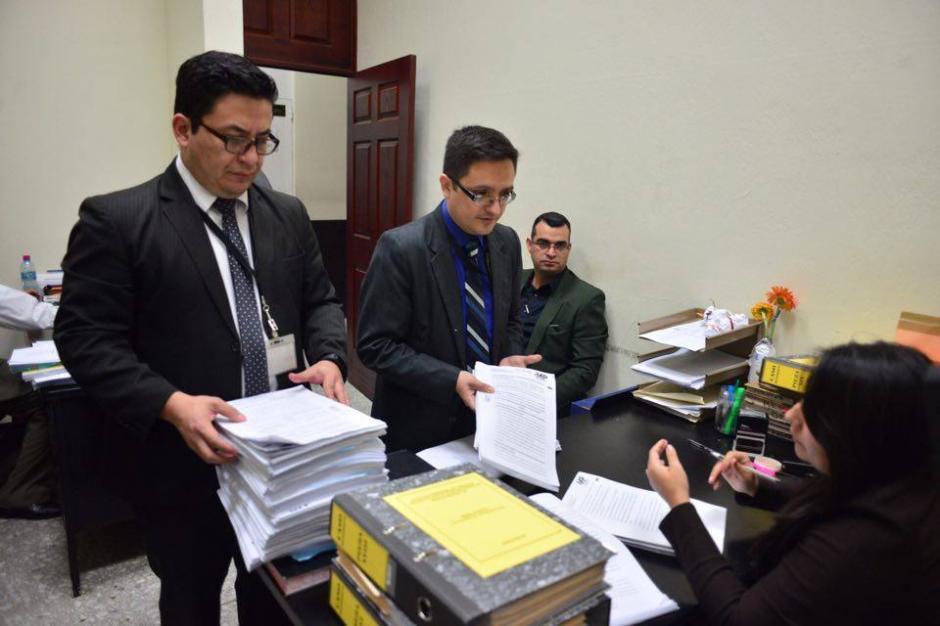 La acusación contra Roxana Baldetti cuenta con 93 folios, donde se señala que habría defraudado al Estado por Q28 millones. (Foto: Jesús Alfonso/Soy502)