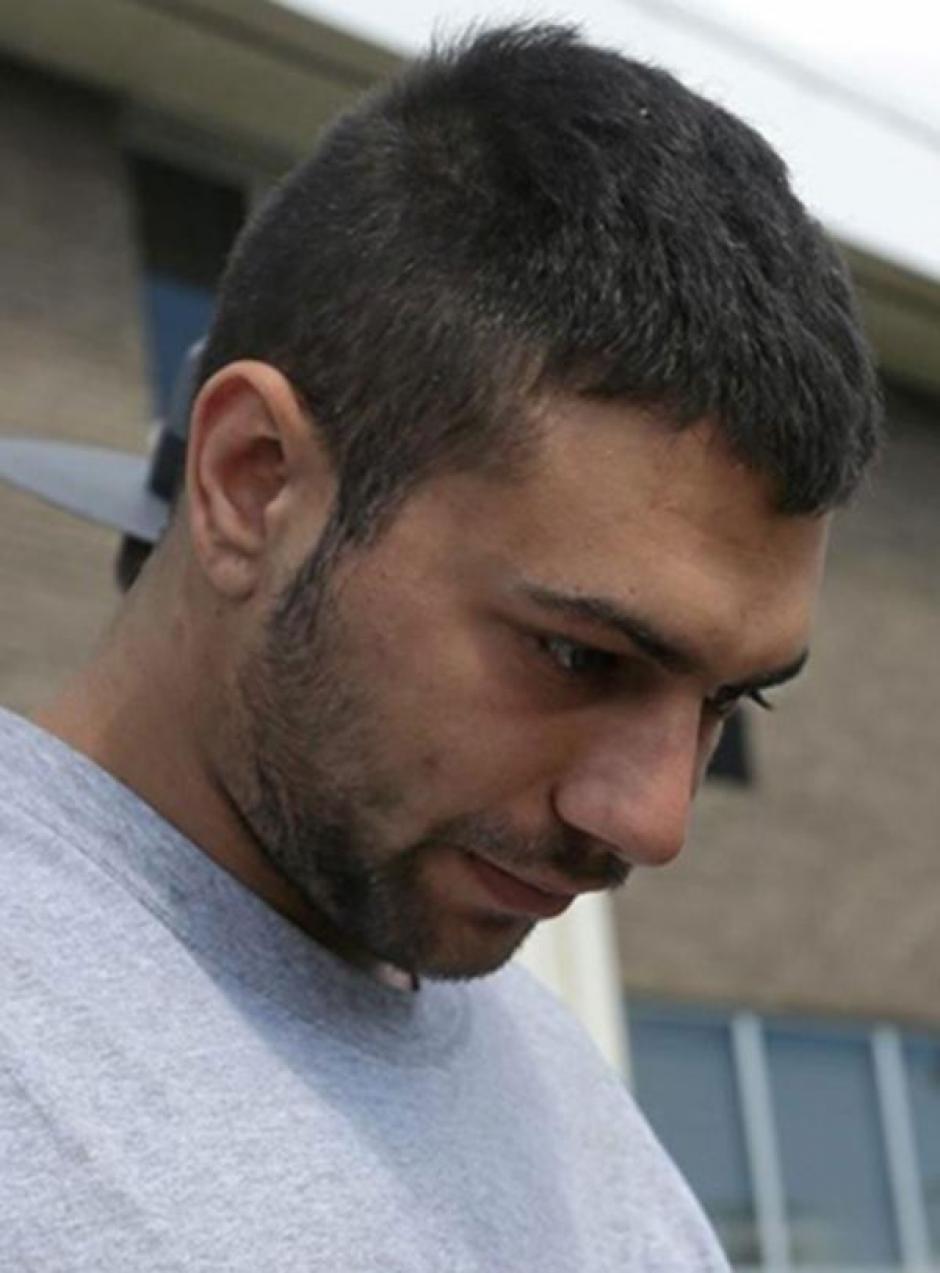 Tyler Mirabelli de 22 años fue el conductor del vehículo para transportar a Rose. (Foto: Infobae)