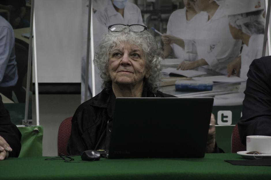 Ada Yonath es un ejemplo de inspiración para la humanidad, especialmente para las mujeres. (Foto: Fredy Hernández/Soy502)