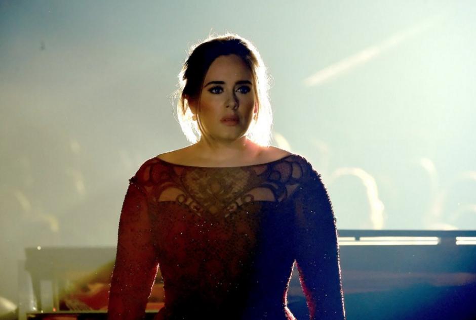 Adele tuvo algunos problemas con su voz. (Foto: The Hollywood Reporter)