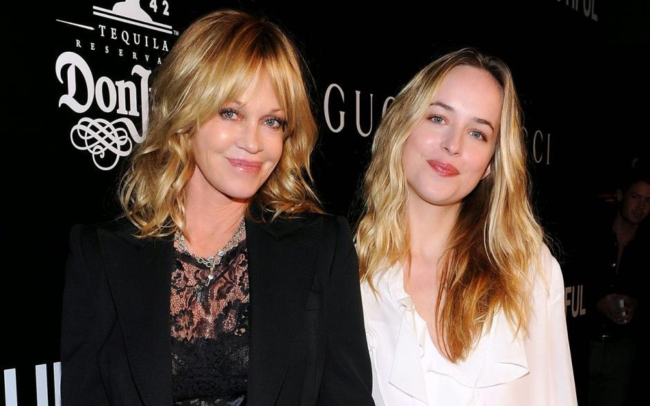 Melanie Griffith y Dakota Johnson, las dos grandes actrices de Hollywood. (Foto: adictivoz.com)