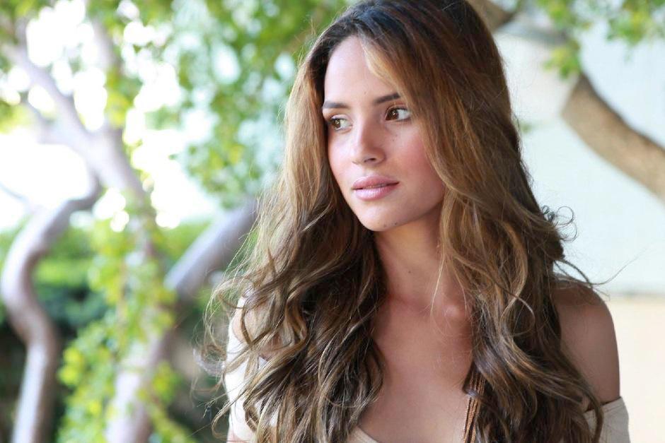 La modelo Adriana Arjona. (Foto: Twitter/Ricardo Arjona)