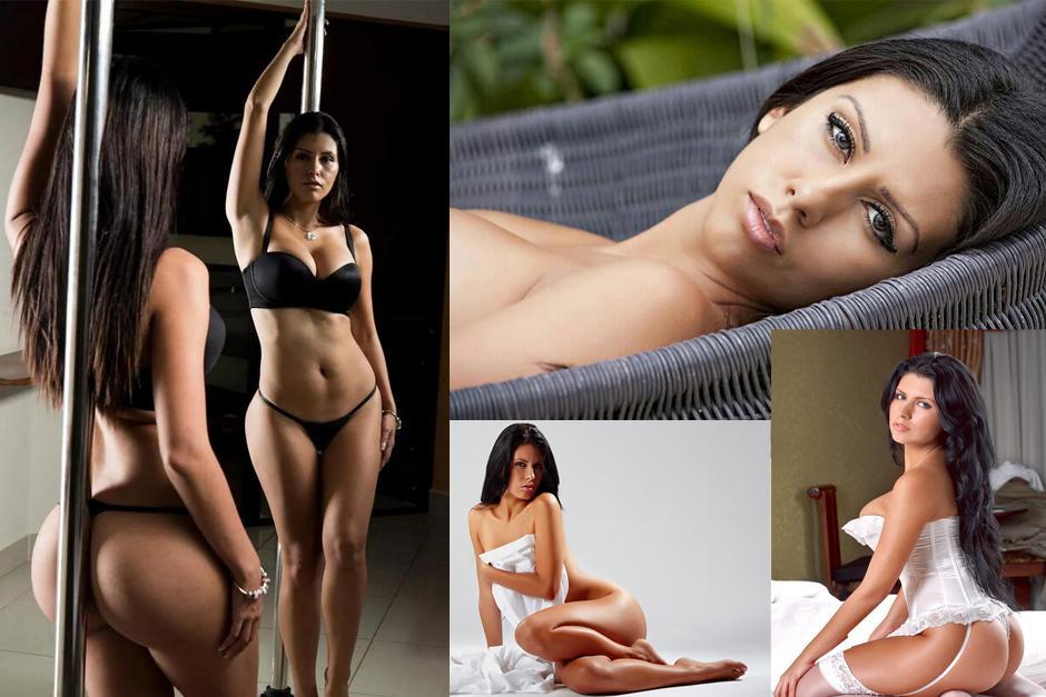 La modelo tica, Adriana Corella, vive uno de los peores momentos de su vida. (foto: Adriana Corella)