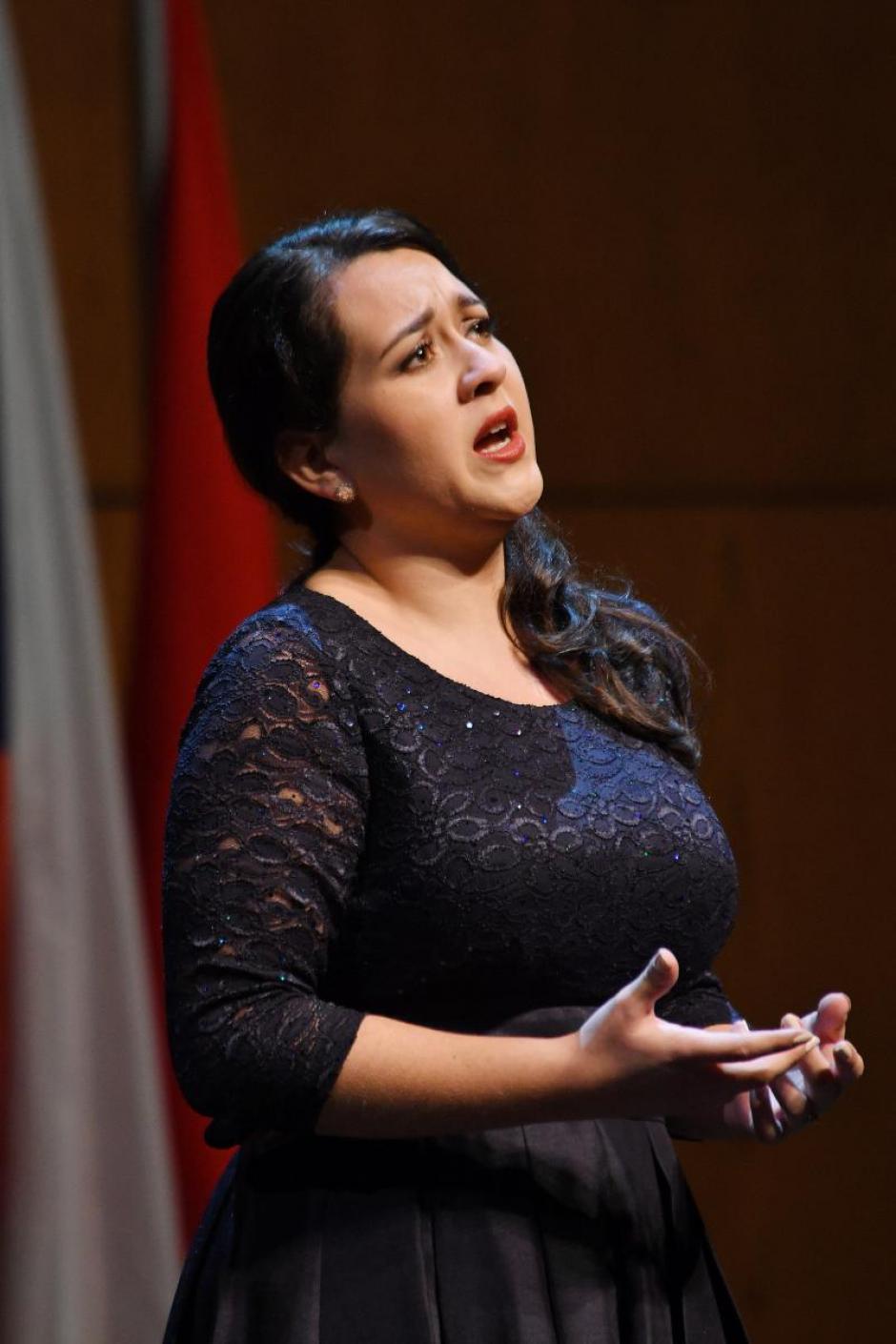 """La joven participó en el concurso internacional de canto """"Tenor Viñas"""". (Foto: Antoni Bofill)"""